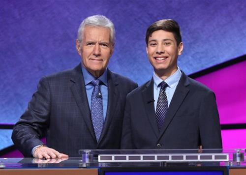 "Atkins Student in ""Jeopardy!"" Teen Tournament"