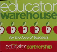 The Educator Warehouse Is Open