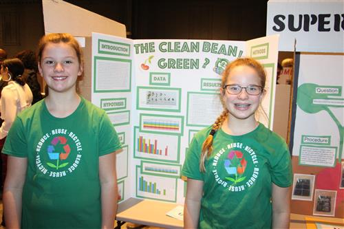It's the District Secondary Science Fair