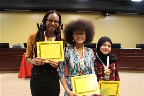 Atkins Students Place First and Second at 2019 Poet Laureate Competition