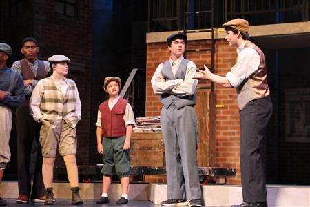 "Come See ""Newsies: The Broadway Musical"""