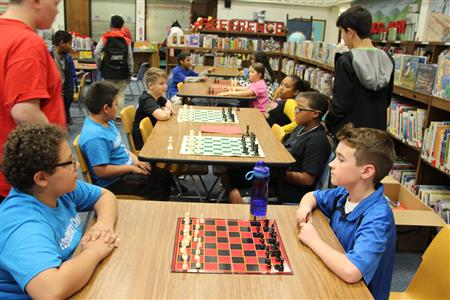 Taking Chess to the Elementary Schools