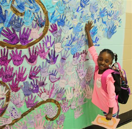A Family Tree Art Project at Piney Grove Elementary
