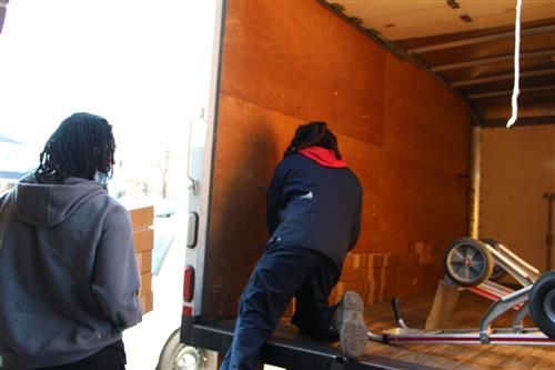 Bringing Books to Young People
