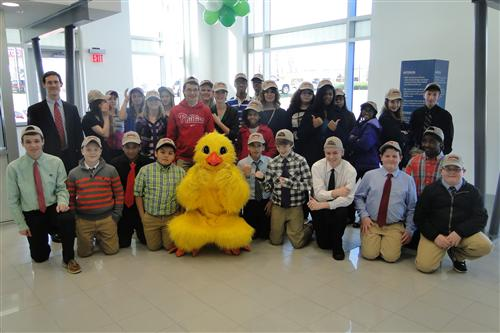 Parks Chevrolet Kernersville Nc >> Students Spend A Day Learning First Hand About The World Of Work