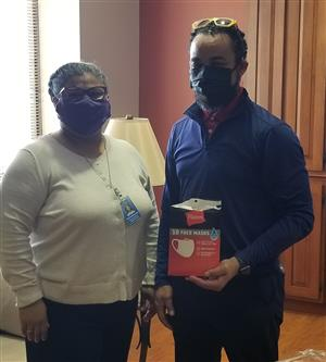 St. Peters World Outreach Donates 1,000 Masks to WS/FCS