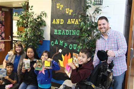 A Reading Camp Out at South Fork Elementary