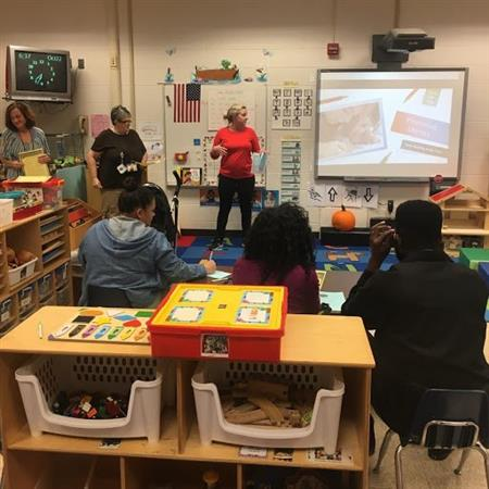 A Family Engagement Night at Union Cross Elementary