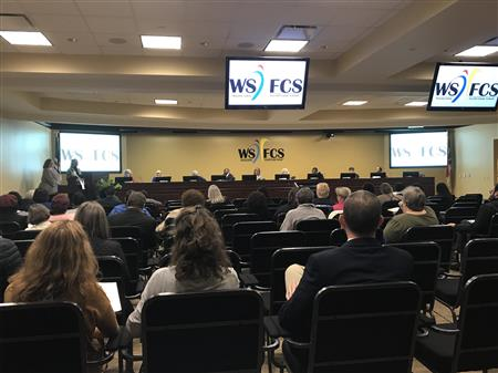 WS/FCS Board of Education Meets November 13, 2018
