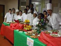 Culinary Arts students