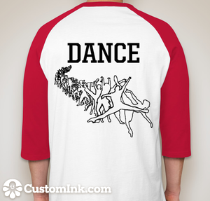 Dance Shirt Back