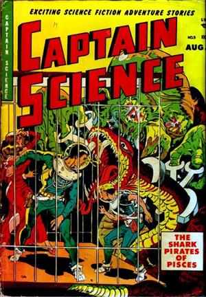 Captain Science is Here!