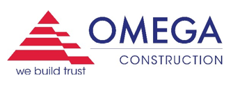 Image logo for the Omega construction company