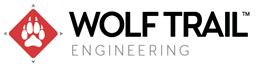 image of the wolf trail engineering logo