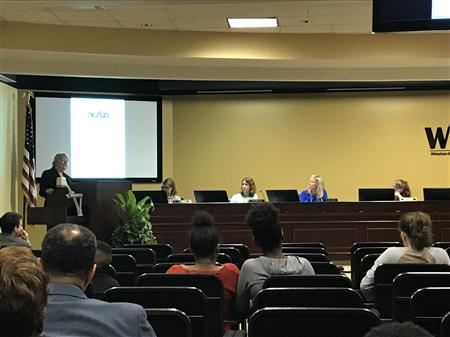 NCSBA Presents at Board of Education Meeting