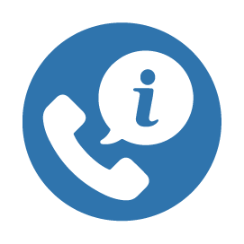 Icon for information hotline
