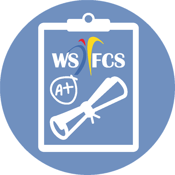 Grading and Graduation logo for WS/FCS
