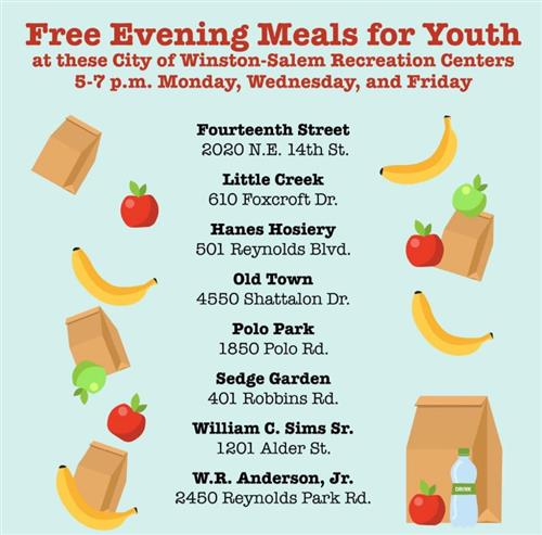 Free Evening Meals