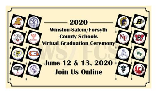 Your Ticket to the 2020 WS/FCS Virtual Graduation image