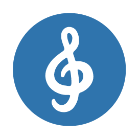 image icon for the G Clef symbol