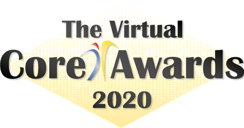 image of the virtual core awards for the 2020 school year