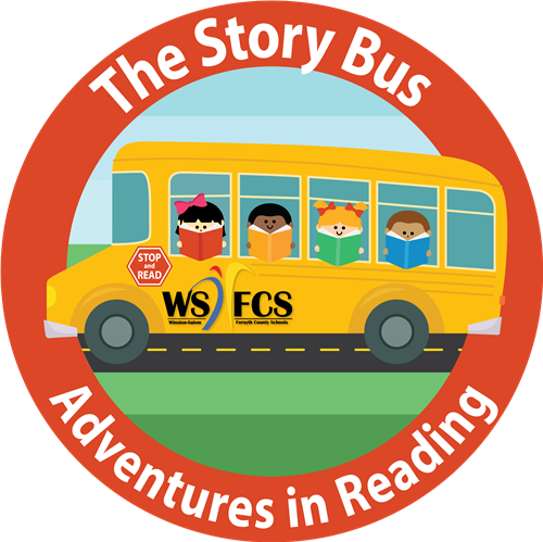 Image logo for the WS/FCS Adventure in Reading Story Bus Program