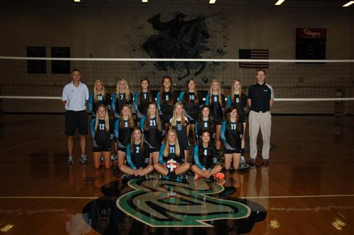 2013 Varsity Volleyball Team