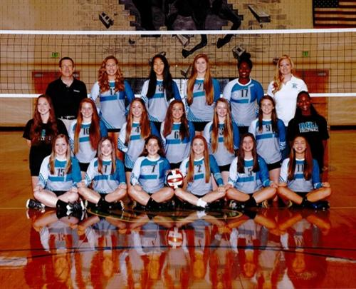 2016 JV Volleyball Team