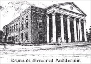Reynolds Memorial Auditorium