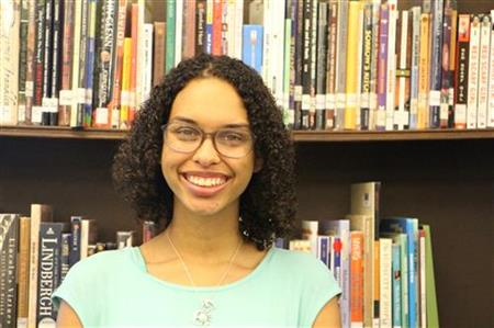 Porche Smith, Junior, Awarded Forsyth County Young Leaders Award