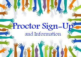 Proctor Sign-Up and Information