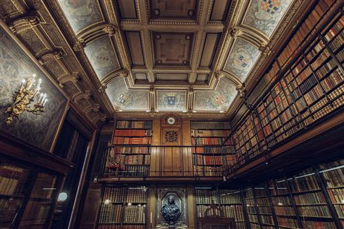 Library. Non-copyrighted image