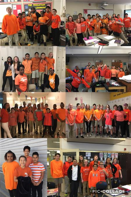 HANES STUDENTS CELEBRATE UNITY DAY!