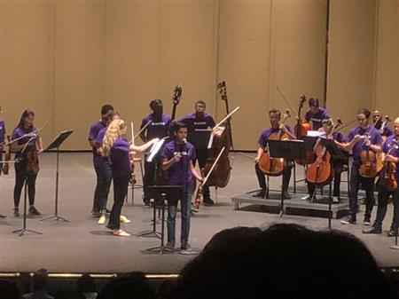 Orchestra Students Attend an Excellent Concert
