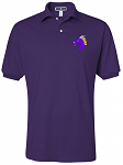 Purple Cotton Polo