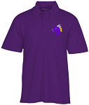 Purple Performance Polo