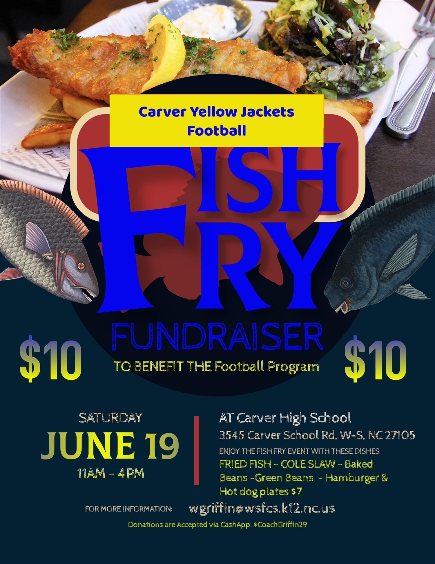 Carver Football Fish Fry