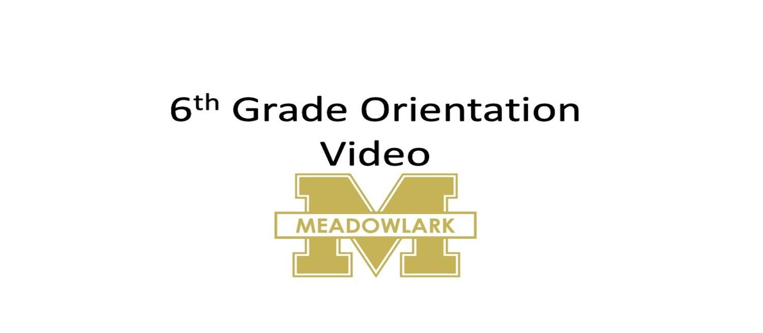 Orientation Video for 6th Graders