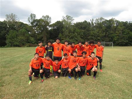 Congratulations to our boys' soccer team for finishing 1st place in the conference.
