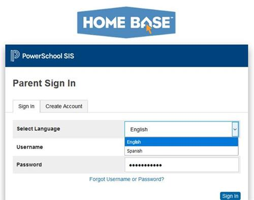 Spanish Parent Portal