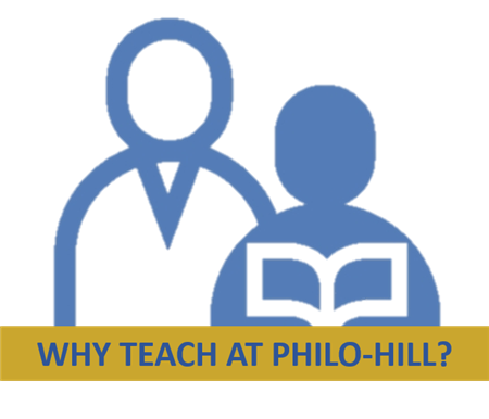 Why teach at Philo - Hill?
