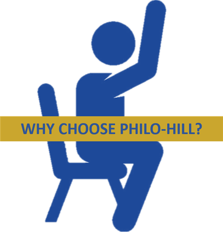 Why choose Philo - Hill?