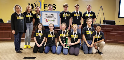 Battle of the Books Take 2nd Place