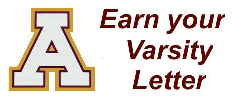 Earn your letter