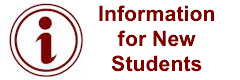 Information for New Students