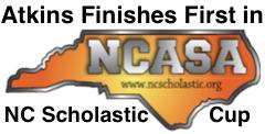 Atkins Wins Scholastic Cup