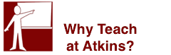 Why Teach at Atkins?