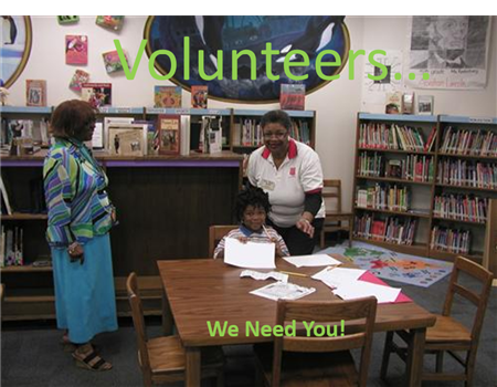 Volunteers: We Need You!