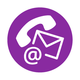 iimage of phone at symbol and email for mass notification system