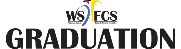 image of winston salem forsyth county graduation logo